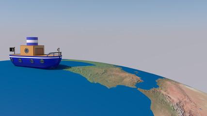 Vuelta al mundo en barco