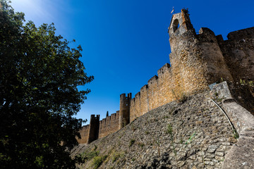 Castle of the Knights Templar in Tomar, Portugal.
