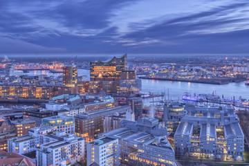 Hamburg Panorama Elbphilharmonie III