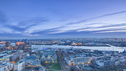 Hamburg Panorama Elbphilharmonie II