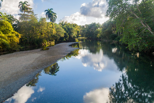 Small river near Baracoa, Cuba