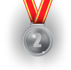 Olympic games silver medal
