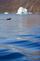 Photo sur Aluminium Pôle Franz Joseph Fjord - Greenland