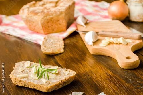 Garlic a natural antibiotic