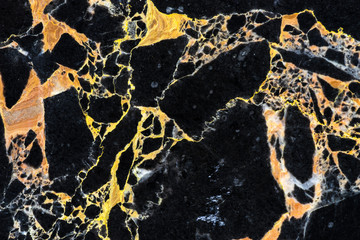 golden black marble texture pattern , luxury design by natural