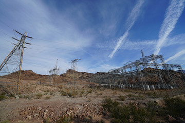 Power Lines in the Canyon