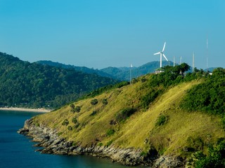Promdhep Renewable energy station.
