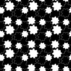 black and white glover pattern