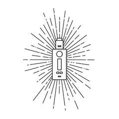 sunray burst electric cigarette personal vaporizer