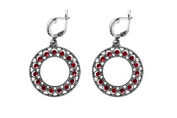 Rube earrings isolated