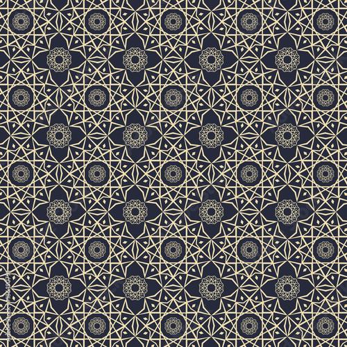Islamic Pattern Element Concept Elegant Background Vector
