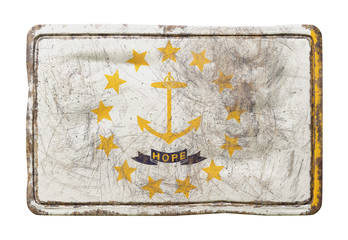 Old Rhode Island State flag