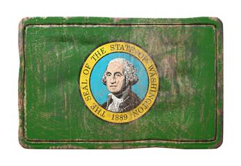 Old Washington State flag