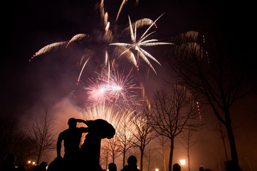 Feuerwerk Casino Baden