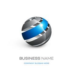 logo entreprise 3D