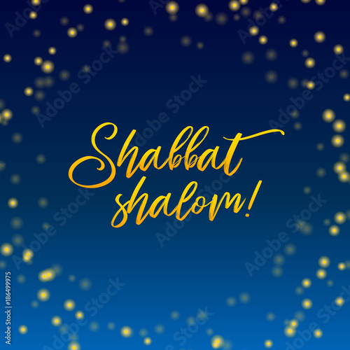 Shabbat shalom lettering greeting card vector illustration hebrew shabbat shalom lettering greeting card vector illustration hebrew words shabbat shalom and blue m4hsunfo