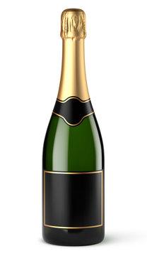 Bouteille de champagne vectorielle 5