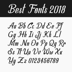 The best fonts in 2018