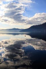 riflessi sul lago di Como - Torno