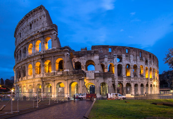 The Coloseum of Rome, Italy