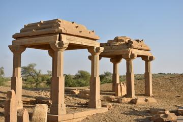 kuldhara heritage village in jaisalmer rajasthan india