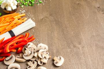 asian vegan food ingredients
