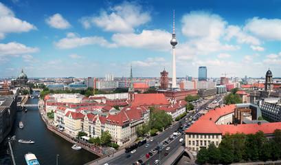 Berlin - Skyline mit Fernsehturm