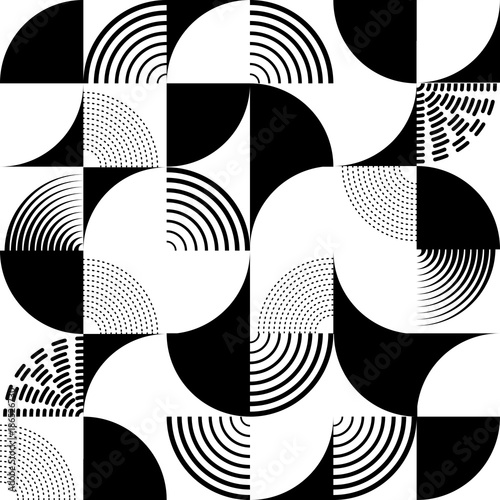 Seamless Art Deco Pattern Vector Background Perfect For Wallpapers