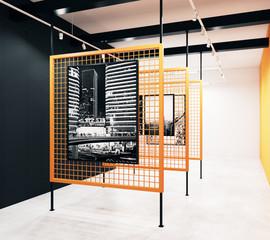 Stylish gallery design