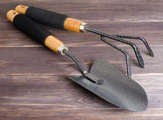 Garden tools for soil