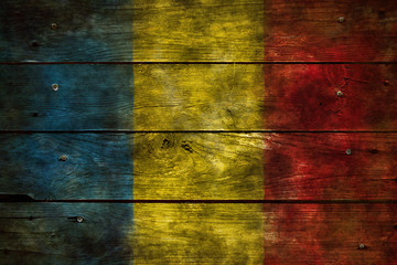 Wall Mural - flagge rumänien
