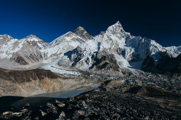 Amazing mountains on Himalayas - Nepal.
