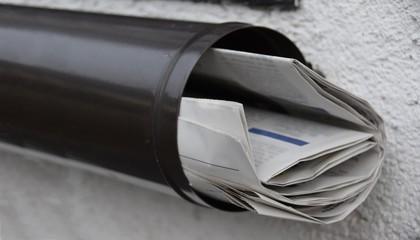 Zeitungen / News / Briefkasten
