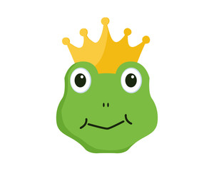 Crown frog face