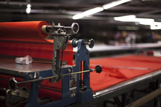Industrial Fabric Machine