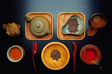 chinese black tea ceremony