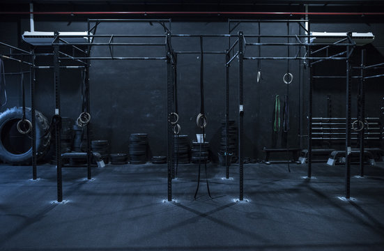Ring training and fitness zone