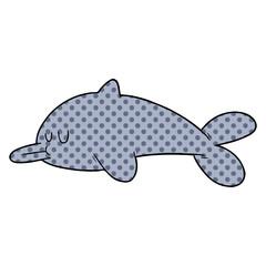 cartoon dolphin
