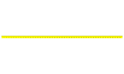 50 inch tape measure ruler with 1/16 inch markings