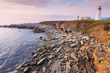 Enragee Point Lighthouse in Nova Scotia Wall mural