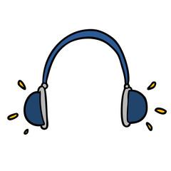 cartoon headphones