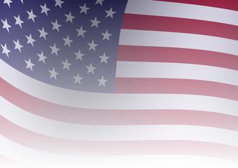 WebUnited States waving flag background