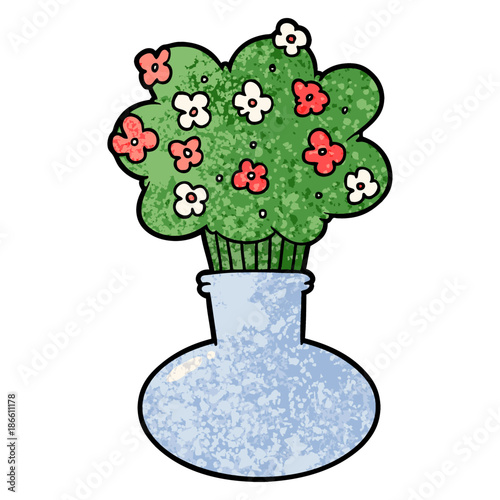 Cartoon Flowers In Vase Stock Image And Royalty Free Vector Files