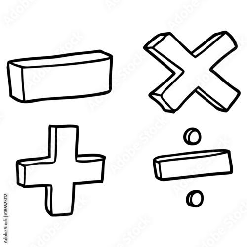 Cartoon Math Symbols Stock Image And Royalty Free Vector Files On