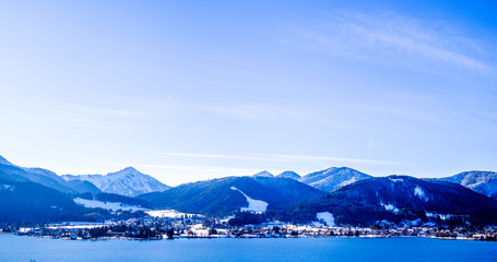 tegernsee lake - bavaria - germany