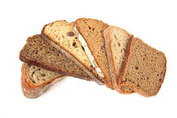 6 Sorten Brot