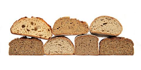 Sieben halbe Brote