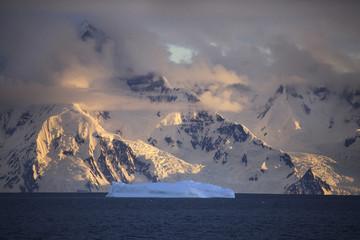 Poster Antarctic Antarctic Peninsula - Antarctica