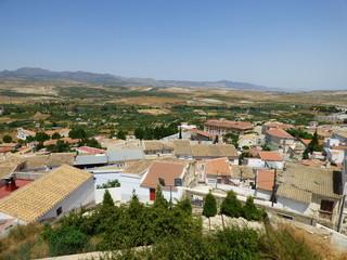 Seron, pueblo de la provincia de Almería (Andalucía,España)