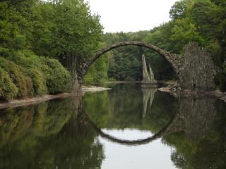Die teuflische Rakotzbrücke